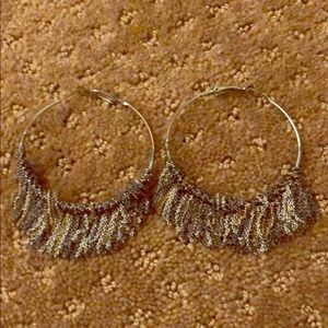 Urban Outfitters boho hoop earrings